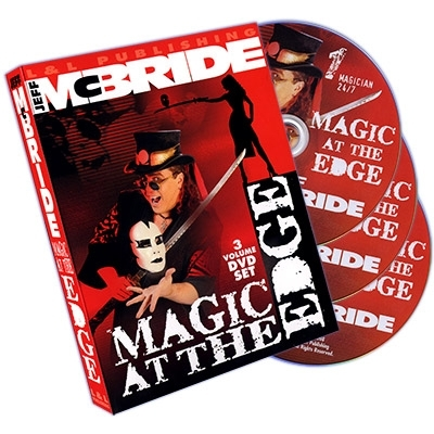 Magic At The Edge (3 DVD SET) by Jeff McBride - DVD (Englisch)