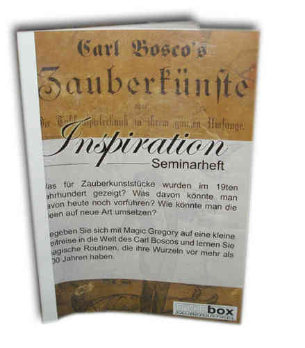 Inspiration - Seminarheft (Deutsch)