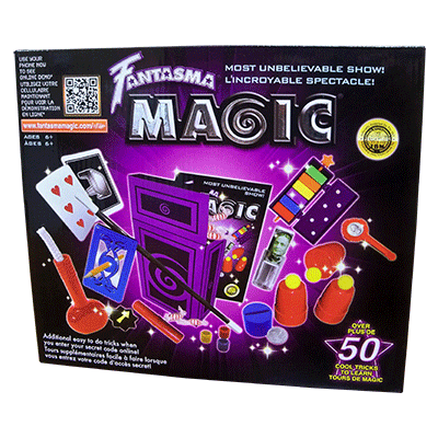 Most Unbelievable Magic Set by Fantasma magic + DVD (Englisch)
