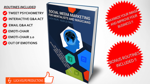 Social Media Marketing for Mentalists and Magicians by Luca Volpe  - Buch (Englisch)