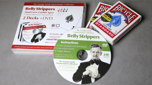 Belly Strippers by Alan Sands + DVD (Englisch)