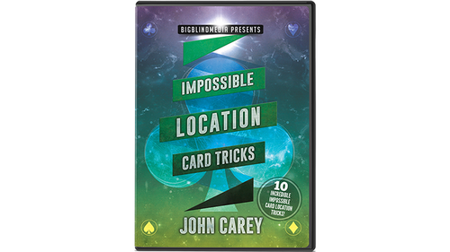 Impossible Location Card Tricks by John Carey - DVD (Englisch)