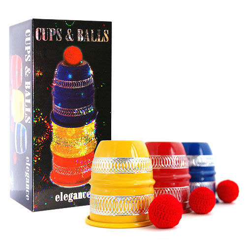 Cups and balls - Elegance