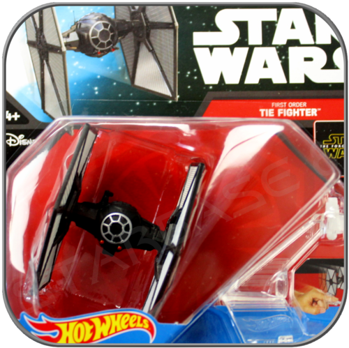 FIRST ORDER TIE FIGHTER - STAR WARS HOT WHEELS METALL MODELL