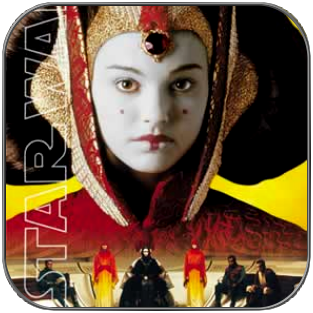 PADME AMIDALA - QUEEN OF NABOO - EPISODE 1 POSTER