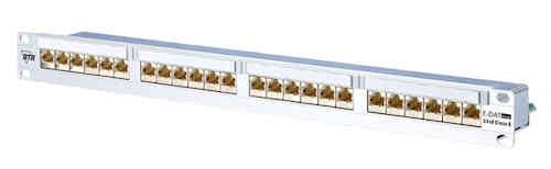 BTR Patchfeld Patchpanel E-DAT 24x8 Cat6 IT