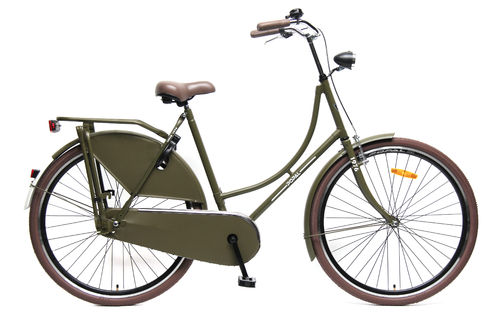28 Zoll Hollandrad army green - fahrrad-Ass.de