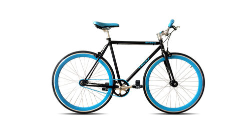 Troy Fixie Speed schwarz-blau fix oder freewheel