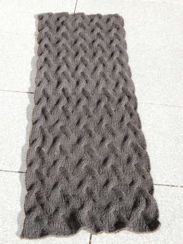 "Anleitung Stola/Pattern shawl ""Cosy Winter"", PDF Download"