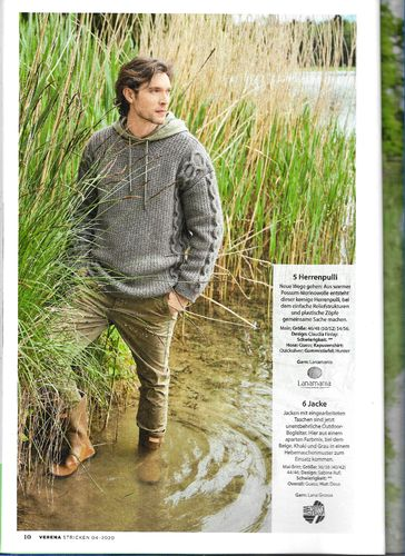Design Pack Verena 3/20 Male Sweater Storm