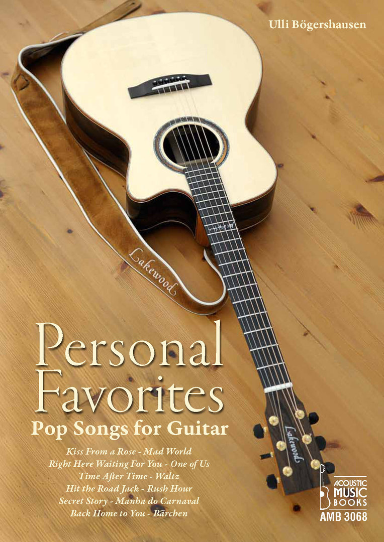 Bögershausen, Ulli - Personal Favorites. Pop Songs for Guitar