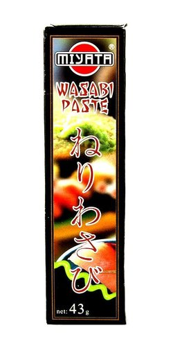 1 Tube Wasabi Paste scharf 43g Sushi grüner Meerrettich China Wasabipaste HOT