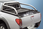 MITSUBISHI L200/3 DOUBLE-CAB MIT STYLING-BAR  MONSTER LADERAUMABDECKUNG / TONNEAU COVER