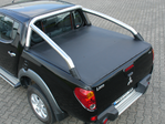 MITSUBISHI L200/3 DOUBLE-CAB MIT STYLING-BAR LADERAUMABDECKUNG / TONNEAU COVER