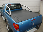 MITSUBISHI L200/3 CLUB-CAB MIT STYLING-BAR  MONSTER SNAPY LADERAUMABDECKUNG / TONNEAU COVER