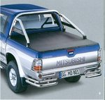 MITSUBISHI L200/2 MIT STYLING-BAR / DOUBLE-CAB LADERAUMABDECKUNG / TONNEAU COVER-STYLE (TYP:220)