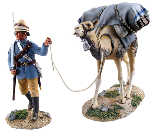 British Camel Corps Trooper and Pack Camel No.1