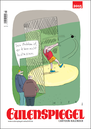 EULENSPIEGEL Cartoon Kalender 2015