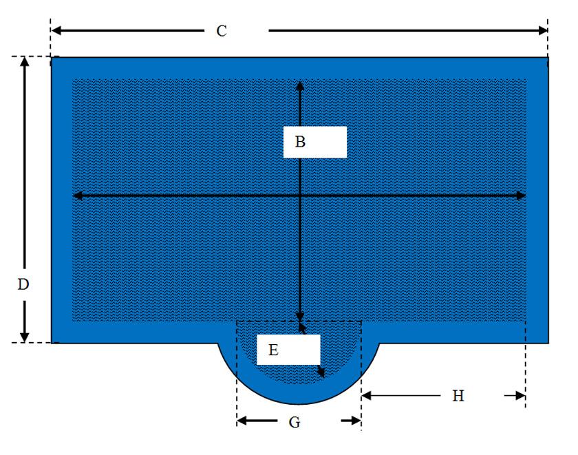 Rechteckige aufblasbare schwimmbadabdeckung mit for Aufblasbare pools im angebot