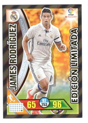 JAMES RODRIGUEZ (R. Madrid)  Edición Limitada ADRENALYN 2017 16/17