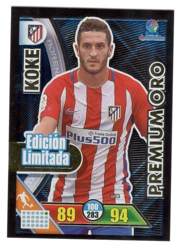 KOKE (At. Madrid)  Edición Limitada ADRENALYN 2017 16/17