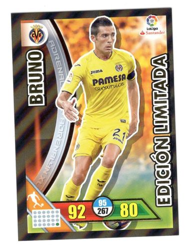 BRUNO (Villarreal) ¡Edición Limitada! ADRENALYN 2017 16/17