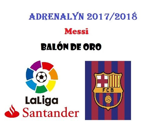 MESSI Balón de ORO Adrenalyn 2017 2018