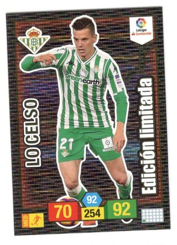 LO CELSO (Real Betis) Limitada ADRENALYN XL 2018/19 panini 2019