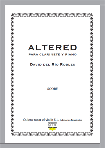 ALTERED PARA CLARINETE Y PIANO