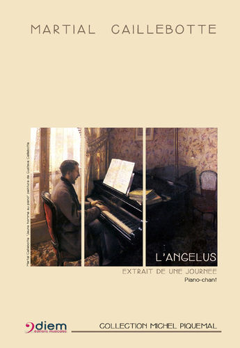 CAILLEBOTTE - ANGELUS  Piano-chant