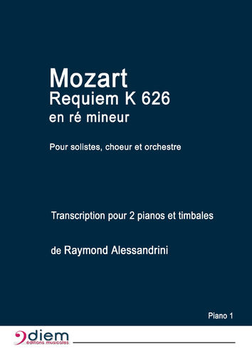 Requiem de Mozart - Parties Piano 1 et 2
