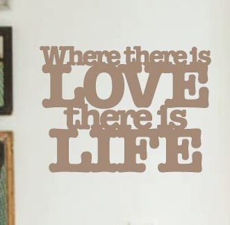 WHERE THERE IS LOVE, ...