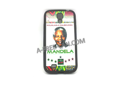 "COQUE pour / PHONE CASE for Samsung Galaxy S4: ""MANDELA"" (By A-FREE-CAN.COM)"