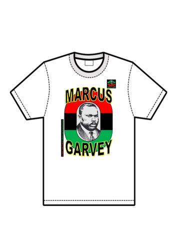 T-SHIRT, Unisex: Marcus Garvey YT1 (by A-FREE-CAN.COM)