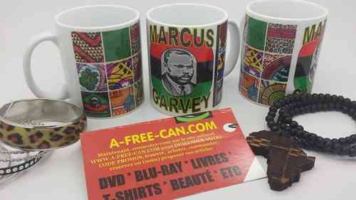 OFFRE LIMITÉE > Achetez 3 mugs & recevez 4 : MARCUS GARVEY's by Yako Tanga for A-FREE-CAN.COM