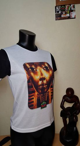 "T-SHIRT, Unisex pour Enfants & Adultes: ""TOUTANKHAMON"" (by A-FREE-CAN)"