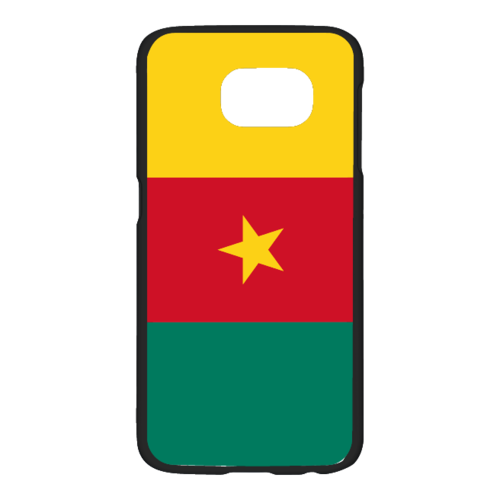 "Coque / Phonecase : ""DRAPEAU CAMEROUN"" By A-FREE-CAN.COM (pour / for SAMSUNG GALAXY 6)"