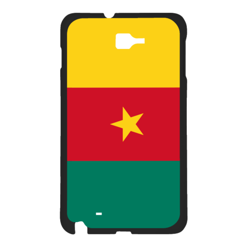 "Coque pour SAMSUNG GALAXY NOTE 3 Phone Case: ""DRAPEAU CAMEROUN"" By A-FREE-CAN.COM"