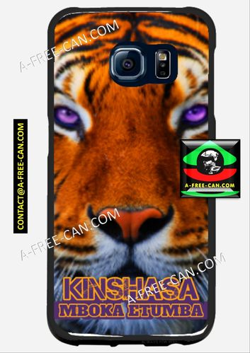 "Coque pour SAMSUNG GALAXY 6 Phonecase by A-FREE-CAN.COM: ""KISHASA MBOKA ETUMBA"""