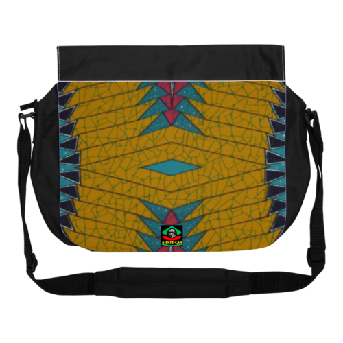 "GRANDE Sacoche à bandoulière / BIG shoulder Bag: ""KAMANGA"" by A-FREE-CAN.COM"
