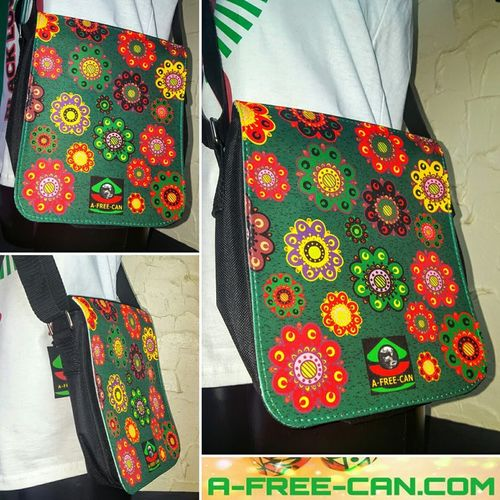 "Petit Sac / Small Bag: ""RAFIKI"" by A-FREE-CAN.COM"