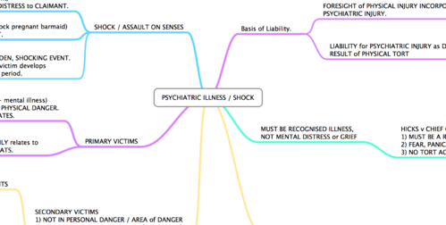 PSYCHIATRIC ILLNESS / SHOCK