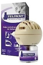 FELIWAY Cat Calming Plug-in Diffuser.& Refill 48ml (only 1 refill in packet)