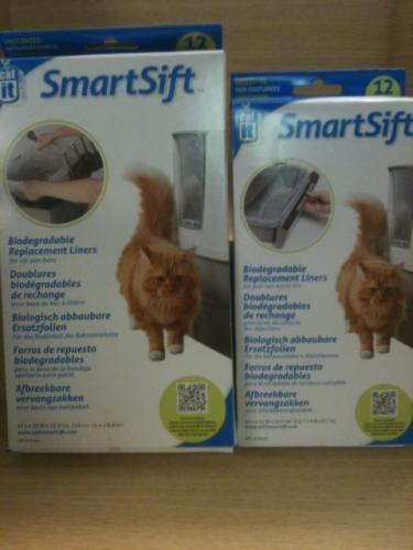 hagen smartsift littertray liners( 1 box of each )