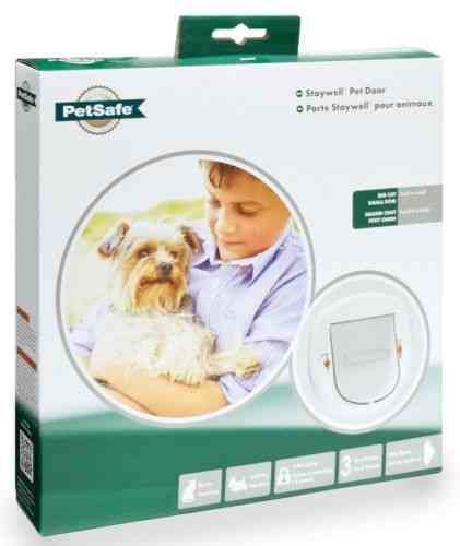 STAYWELL deluxe manual white CAT FLAP