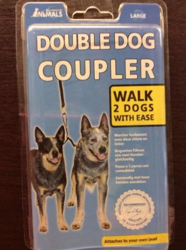 Double Dog Coupler Company Of Animals Size Large