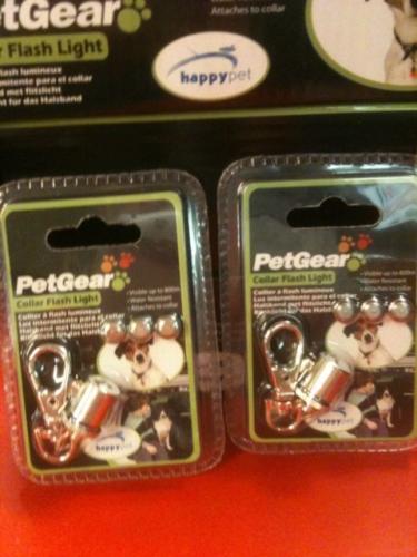 Flashing Led Dog-pet Collar Light Hivis .led Collar Light.