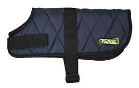 HAPPY PETS QUILTED DOG COAT.