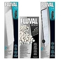 genuine Fluval U4 Media Replacement Filter Foams Poly & Biomax.full set