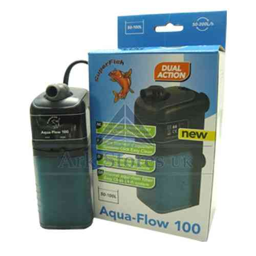 internal power filters aquarium fish tank Aquaflow 100